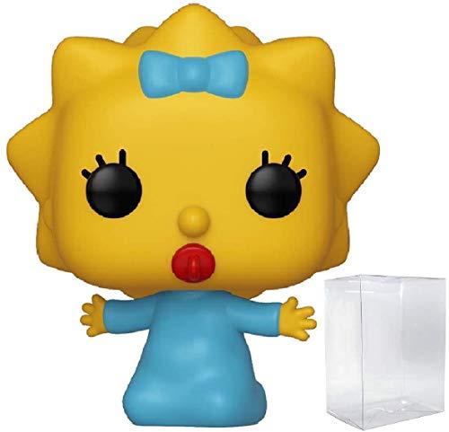 - Funko The Simpsons - Maggie Simpson Pop! Vinyl Figure (Includes Compatible Pop Box Protector Case)