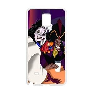 Samsung Galaxy Note 4 White phone case Halloween Disney Villains The best gift FOE9404754