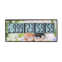 Digital Countdown Wedding Timer - AIMILAR 999 Days Digital Count Down Timer for Wedding ( 3-Year Warranty)