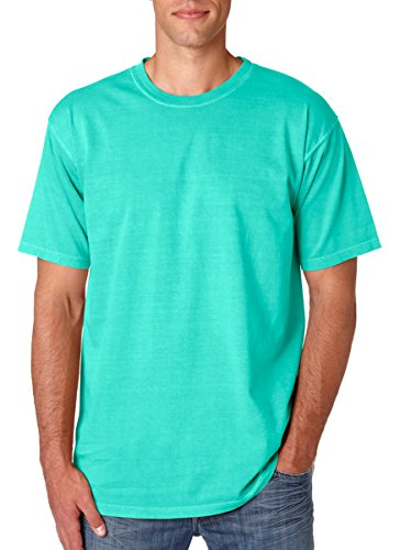 Chouinard Men's Ring-Spun Garment-Dye Bottom Hem T-Shirt_Chalky Mint PgmDye_M (Garment Dye Ringspun)
