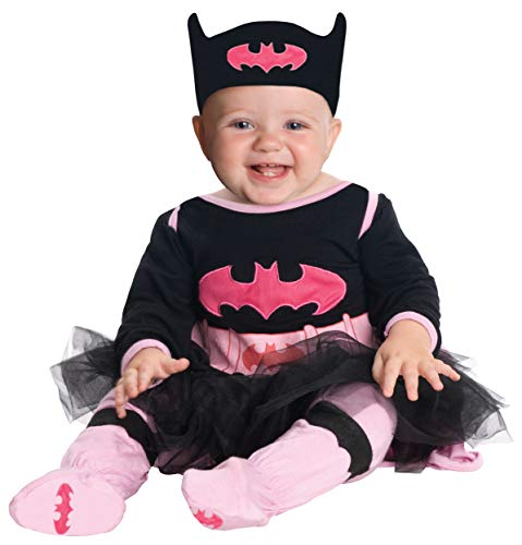 Rubie's Costume DC Comics Batgirl Onesie And Headpiece, Gray, 0-6 Months ()