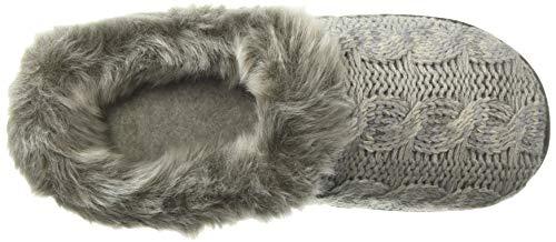 Space Clog Grey Knit Light Slipper Heather Dearfoams Women's Cable dye 5w4U4X