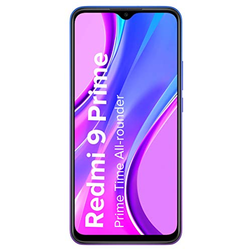 Redmi 9 Prime (Matte Black, 4GB RAM, 64GB Storage) – Full HD+ Display & AI Quad Camera