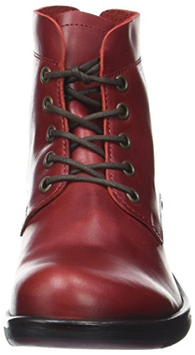 Fly London Mesu780fly, Stivali Donna Rosso (Red)
