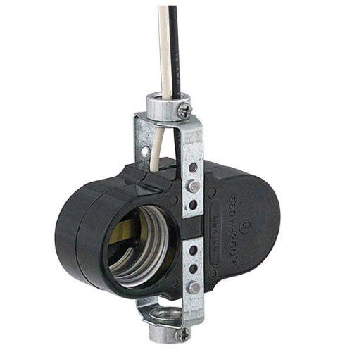 - Phenolic Medium Base Socket - Switchless 2 Light Offset Cluster - 660 Watts - 250 Volts-PLT D610