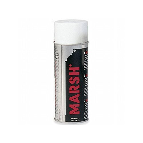 Box Packaging Marsh Stencil Ink Spray, White - 12 Cans per Case by Box Packaging