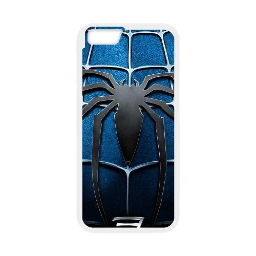 Pictures Of Spiderman 005 coque iPhone 6 Plus 5.5 Inch Housse Blanc téléphone portable couverture de cas coque EEEXLKNBC18831