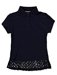 French Toast Girls' Knit Polo