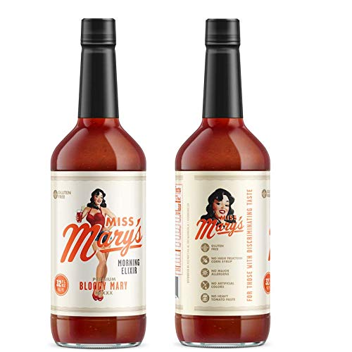 Miss Mary's Bloody Mary Mix- 6 Pack. 2 of Each Flavor