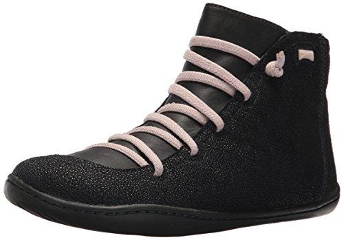 Camper Kids Girls' Peu Cami 90085 Sneaker, Black, 35 EU/3.5 M US Big Kid