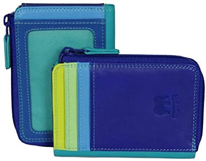e53876ae4cda Mywalit Purse Wallet ID Holder Zippered Leather Style 334