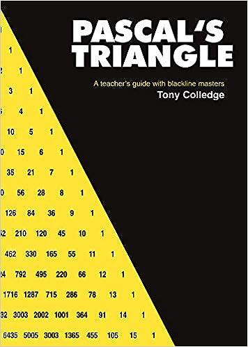 how to use pascal triangle