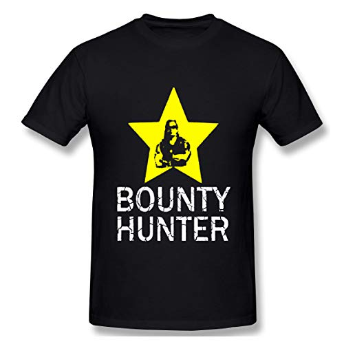 BrocadeCarp Dog Bounty Hunter Beth Chapman Men Leisue Shirts Women Loose Short-Sleeved T-Shirt L Black]()