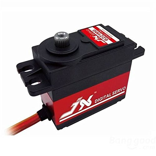 Quickbuying 4PCs JX PDI-6221MG 20KG Large Torque Digital Coreless Servo For RC Model Spare Parts For RC Airplane Car by RC accessories