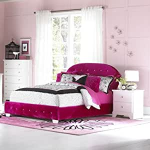 Standard Furniture Marilyn Youth 3 Piece Kids 39 Bedroom Set In Wathermelon