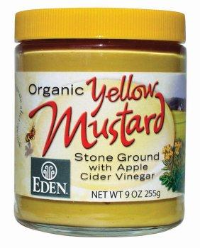 Eden Foods Yellow Mustard Glass (12x9 Oz) by Eden