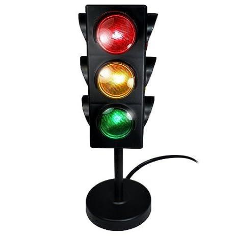 Amazon.com: TOYSnPLAY Desktop Traffic Light Lamp - 10.5 inch: Toys ...