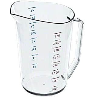 Amazon.com: Thunder Group 4.0 Quart Liquid Aluminum Measure Cup ...