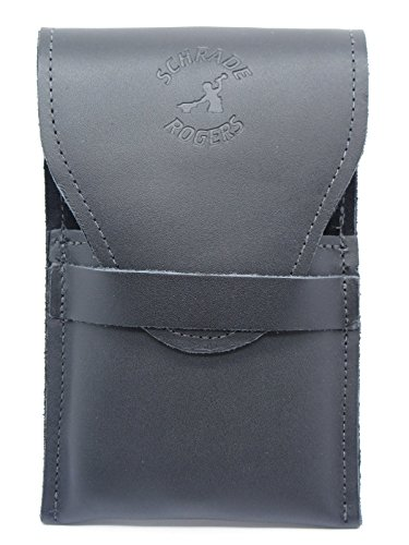 Schrade Rogers Leather Straight Razor Case Pouch Sheath, used for sale  Delivered anywhere in USA