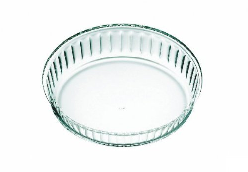 Simax Glassware 6566 Fluted Cake Dish