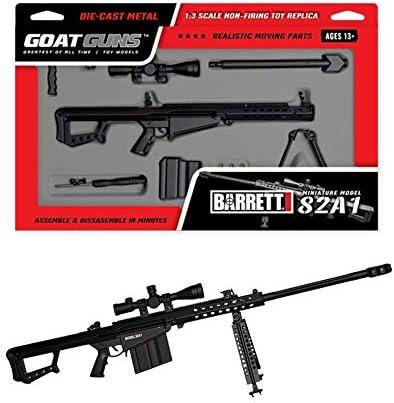 Goatguns 50Cal Barrett 82A1 Black Toy Model1//3 Scale