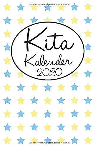 Kita Kalender 2020 Erzieher Kindergarten Planer Im A5 Format