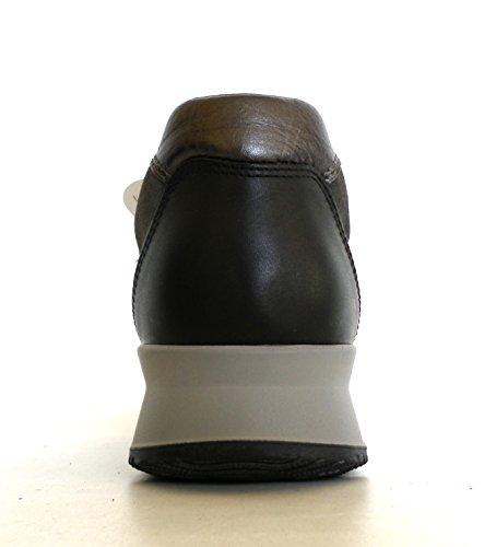 Hogan Uomo Scarpa Sneaker Time Active MOD. Sport. New H Flock Modello HXM1480A4817ZB741J Grigio