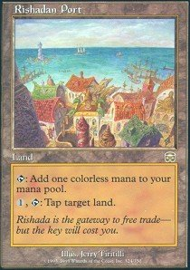 30 Year Old Port (Magic: the Gathering - Rishadan Port - Mercadian Masques)
