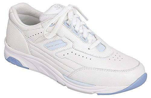 SAS Women's Tour White 8 WW - Double Wide (D) US - Sas Comfort Shoes