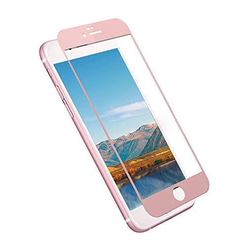 Clear Plus Cart Filter - Tempered Glass Screen Protector for iPhone 6 Plus, Pavoscreen 3D Touch Glass Filter [Full Screen Coverage] Ultra-Thin Cystal HD Clear Glass for iPhone 6s Plus [5.5inch] (Rose Gold)