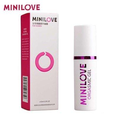 Minilove Gel orgasmique pour femmes, amour Climax Spray, fortement améliorer la Libido féminine, sexe féminin serrer huile vagin