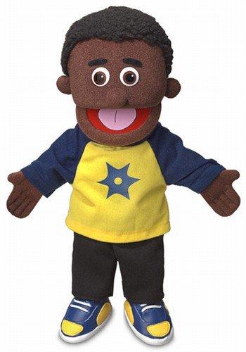 14″ Jordan, Black Boy, Hand Puppet