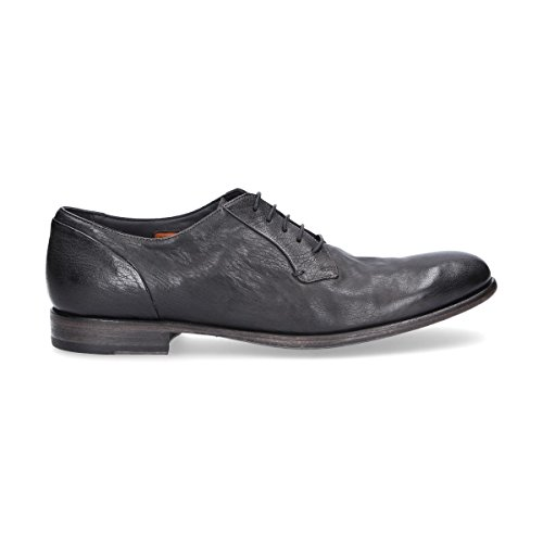Homme Chaussures Pantanetti Gris Cuir À 11431grey Lacets 8pwxxUdBq