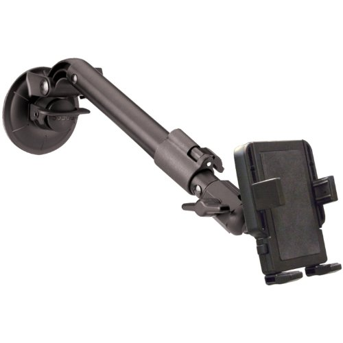 PanaVise PortaGrip Phone Holder with Telescoping Windshield Mount