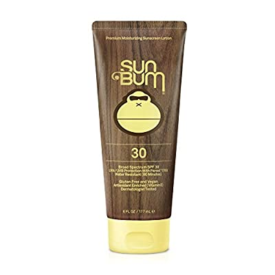 Sun Bum Original Moisturizing Sunscreen Lotion, 1 Count, Broad Spectrum UVA/UVB Protection, Hypoallergenic, Paraben Free, Gluten Free