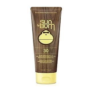 Sun Bum Original Moisturizing Sunscreen SPF 30 Lotion - Broad Spectrum UVA/UVB - Water Resistant & Non-Greasy Protection, Hypoallergenic, Paraben Free, Gluten Free - SPF 30-6 oz. Tube - 1 Count