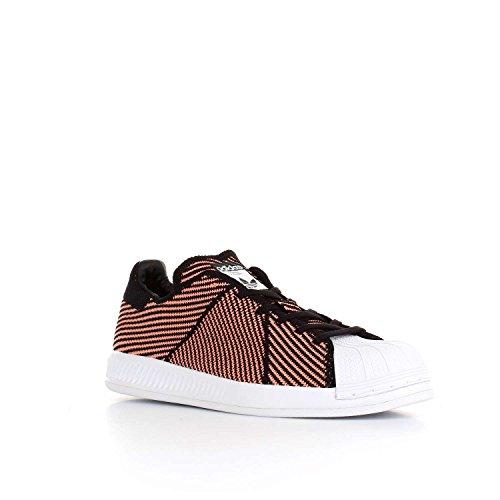 Adidas Superstar Bounce Pk W - Zapatillas Deportivas Para Mujer, Negro - (negbas/brisol/ftwbla) 36