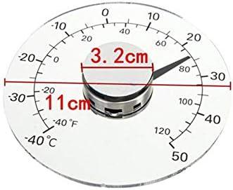 Außenthermometer Bleifrei Batteriefrei Selbstklebendes Transparentes Wasserdichtes Heimthermometer Für Tür Und Fenster