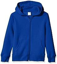 Amazon Essentials Boys' Fleece Zip-up Ho
