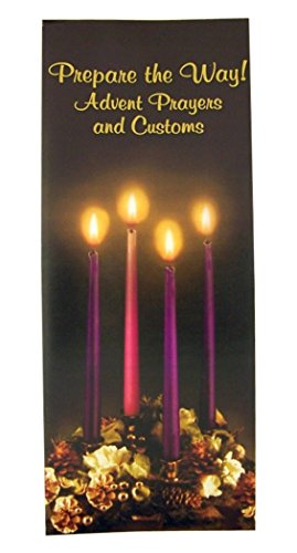 Prepare the Way Advent Prayers and Customs Folded Paper Pamphlet, 8 1/2 Inch (100)