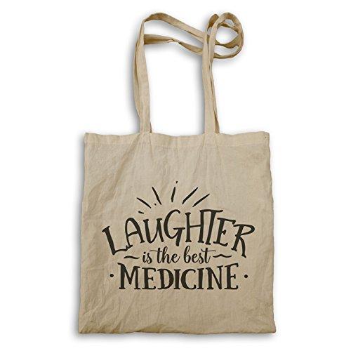 Lachen Ist Die Beste Medizin Tragetasche t635r