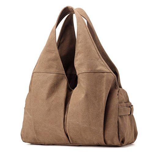 Frauen Jahrgang Leinwand Schulter Ipad Messenger Handtasche Einkaufen Die Universelle Einsatz Tasche ,D-OneSize