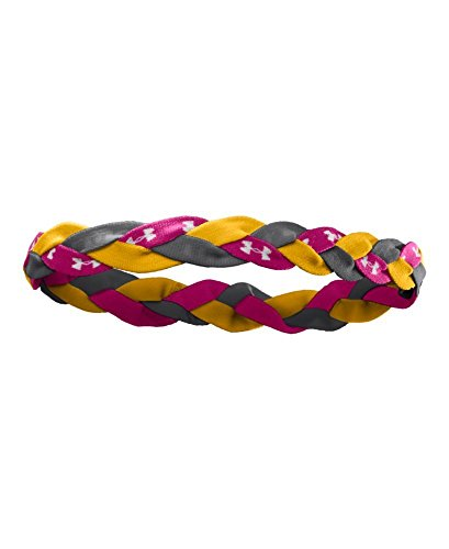(Under Armour Women's ArmourTM Braided Mini Headband One Size Fits All Maize)
