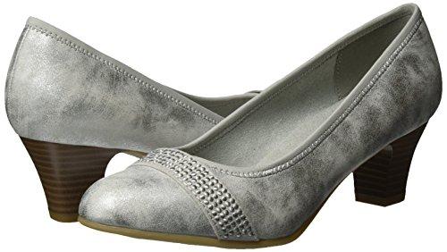 Escarpins Softline silver Gris 191 Femme 22464 white 5qqga4