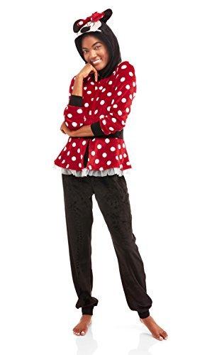Disney Minnie Mouse Union Suit Onesie Pajama Costume (XL 16/18) -