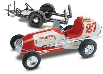 Revell 1:25 Kurtis Midget Racer Edelbrock Equipped V-8/60 With trailer by ()