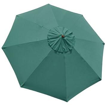 10 m verde sombrilla paraguas de repuesto parte superior al aire libre jardín Patio Patio Playa