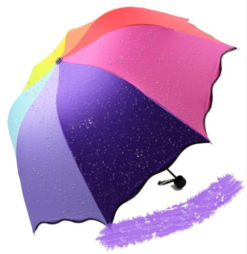 [AA New Windproof Anti UV Clear/Rain Korean Lacework Princess Folding Umbrella] (Princess Tiny Feet Costume)