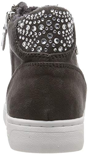Gris 00013 Femme Baskets Tailor 5892609 Tom Hautes coal zqPnH