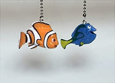 Finding Nemo Finding Dory Ceiling Fan Pull Set by Wooden Androyd Studio
